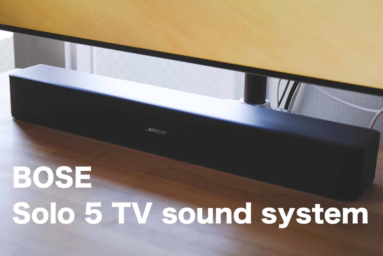Bose solo 5 tv sound system1